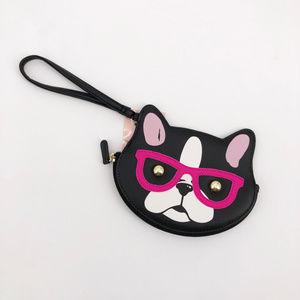 LUV Betsey Johnson French Bulldog Wallet Clutch